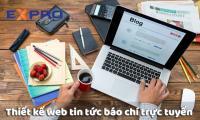Thiết kế website tin tức báo chí trực tuyến chuyên nghiệp