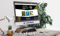 Thiết kế web nhanh Expro Việt Nam
