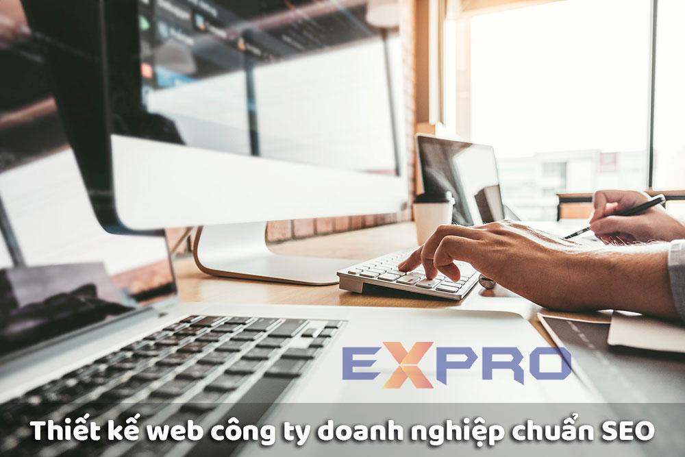 Thiết kế web công ty doanh nghiệp chuyên nghiệp tốt nhất