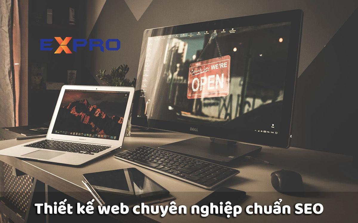 Thiết kế website chuyên nghiệp chuẩn seo