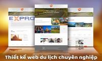 Thiết kế website du lịch chuyên nghiệp tốt nhất