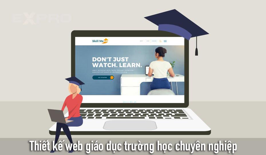 Thiết kế website giáo dục chuyên nghiệp uy tín tốt nhất.