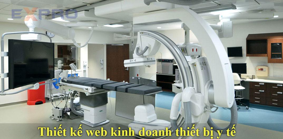 Thiết kế website kinh doanh thiết bị y tế chuyên nghiệp chuẩn SEO