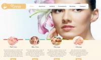 Thiết kế web làm đẹp giá rẻ thu hút